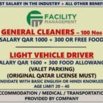 Urgent Qatar Vacancy 2021 Check Salary, Age more