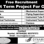 Free Requirement - Short Term Project for Oman